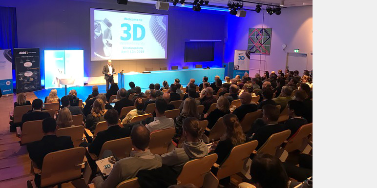 Full house at 3D Inspiration Day