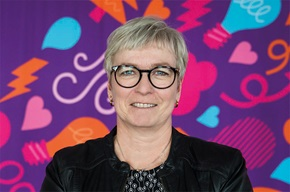 """""""We want to learn more about our customers and become even better,"""" says Eva-Lena Berglund, Head of Invoicing at Skellefteå Kraft."""
