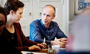 Karin Rydh, Project Manager PostNord Strålfors. Jacob Lindborg, Project  Manager PostNord Strålfors.